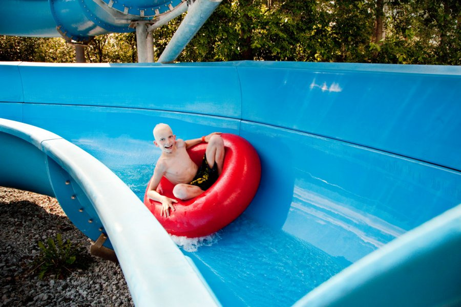 Children's Waterpark Kesämaa within the holiday village